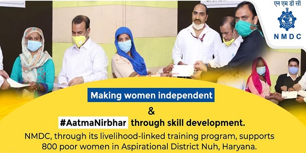 NMDC is empowering women with AatmaNirbhar mission