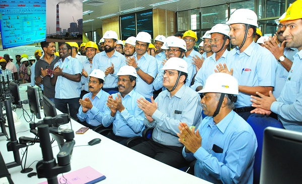 NLCIL conducts boiler light up for its first unit of Neyveli New Thermal Power Project 1000 MW