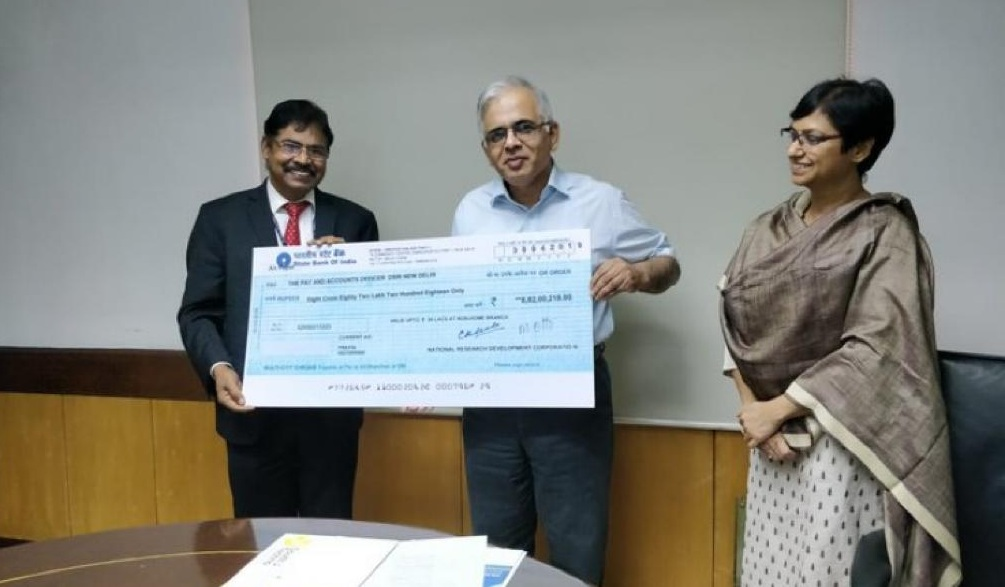 NRDC Pays Royalty of Rs. Rs. 9.87 Cr to DSIR and CSIR