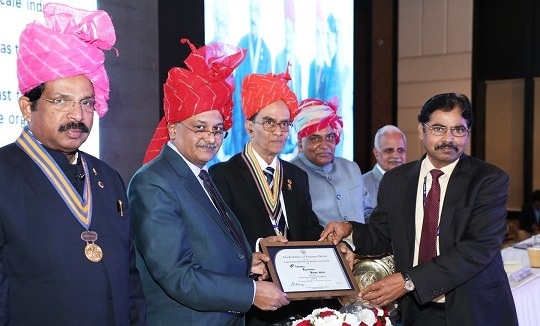 NRDC CMD Awarded with IEI Industry Excellence Award