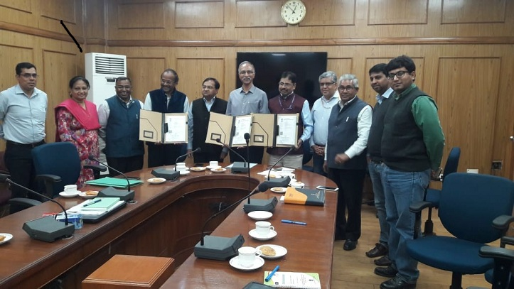 NRDC and DSIR Signed Agreement with REIL for Development of Next Generation Data Processor Unit