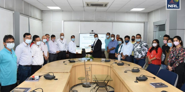 MoU signedNRL signed MoU with CSIR-NEIST between NRL and CSIR-NEIST