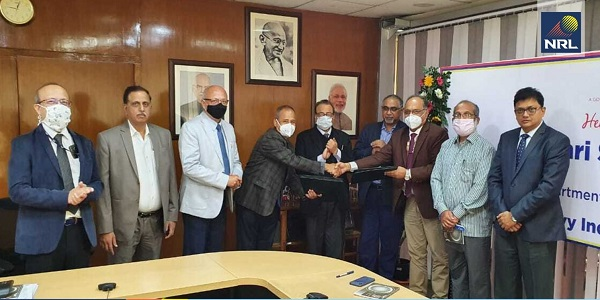NRL signed MoU with Oil India Limited