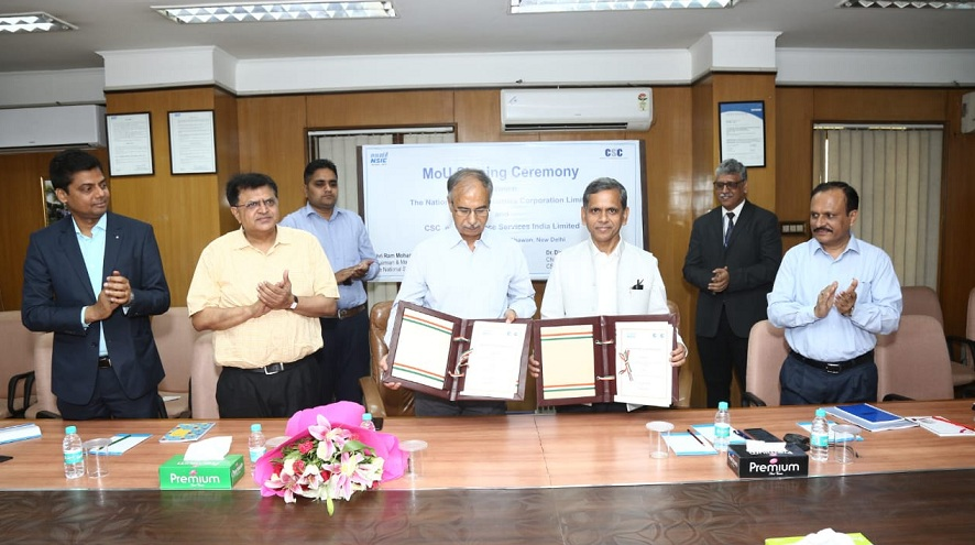 NSIC Signs MoU with CSC - eGovernance Services India