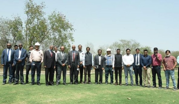 Foreign Minister of State of Eritrea and Advisor to President visit at NTPC Dadri and PMI