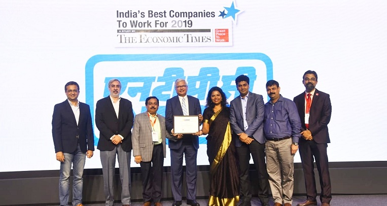 NTPC Ranked as one of India s Best places to Work For - 2019