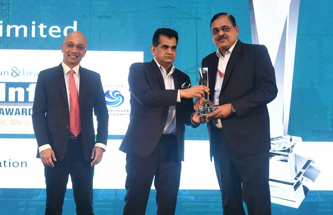 NTPC Honored with Dun and Bradstreet India Infra Award