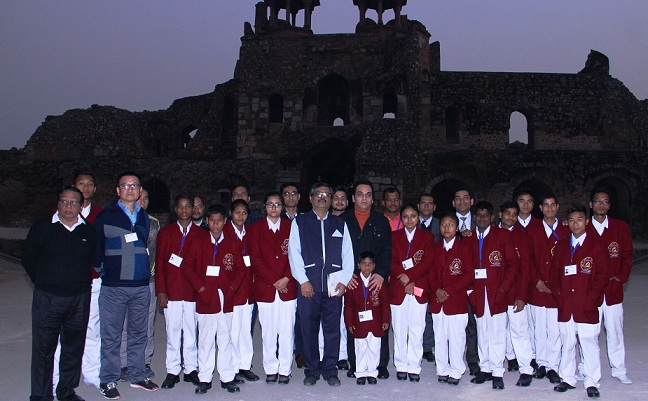 ITDC Sets Stage for Son Et Lumiere to Felicitate 18 National Bravehearts at Purana Qila