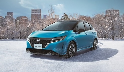 Nissan launched Note e-POWER AWD compact car