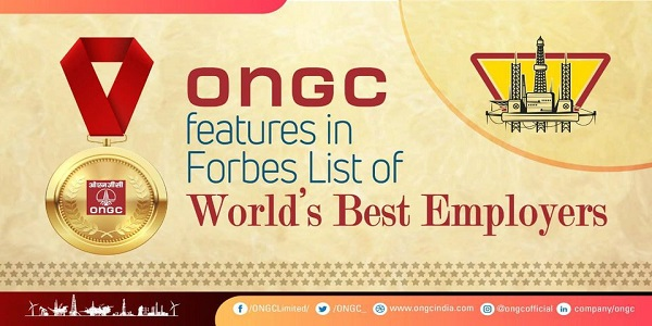 ONGC featured in Forbes list of World Best Employers list