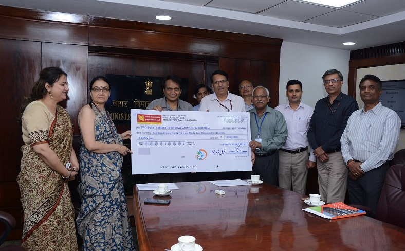 Pawan Hans Pays Dividend to GoI