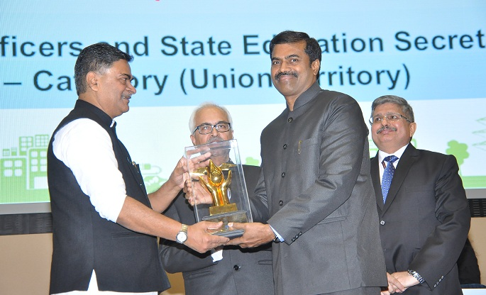 PFC Receives Best Nodal Officer Award in UT Category