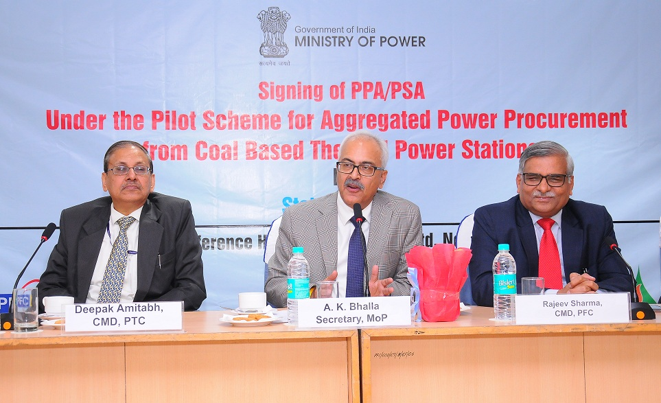 State Discoms and IPPs Ink PSAs and PPAs for 1900 MW