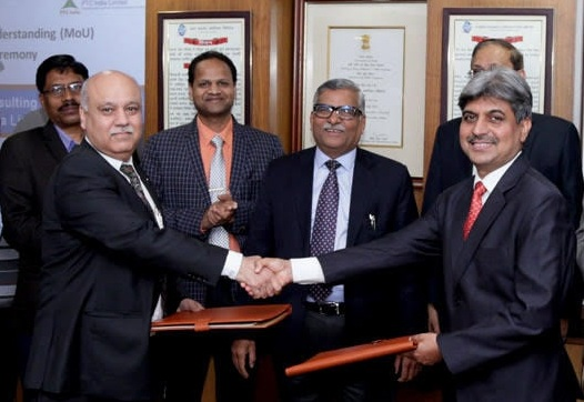 PFC Consulting Ltd. Signs a MoU with PTC India Ltd