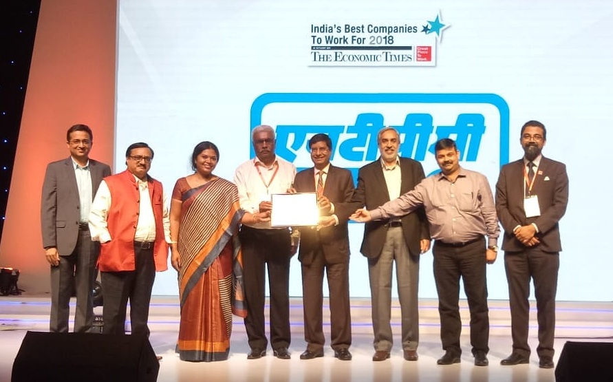 NTPC Amongst top India s Great Place to Work for in the Country