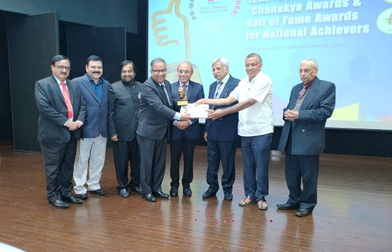 Executive Director HR NTPC Receives Business Communication and HR Excellence Award
