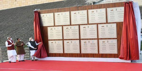 PM Inaugurated various development works in Kevadia and Sabarmati Riverfront in Ahmedabad