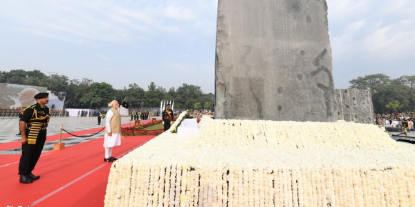 PM pays tributes to police personnel martyred in the line of duty on Police Commemoration Day