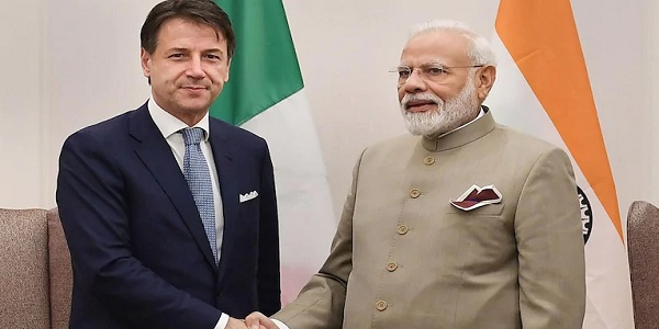 PM modi will have a virtual bilateral summit with Italy tomorrow