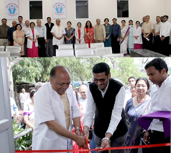POSOCO Developed a Waiting Hall in Safdarjung Hospital under CSR