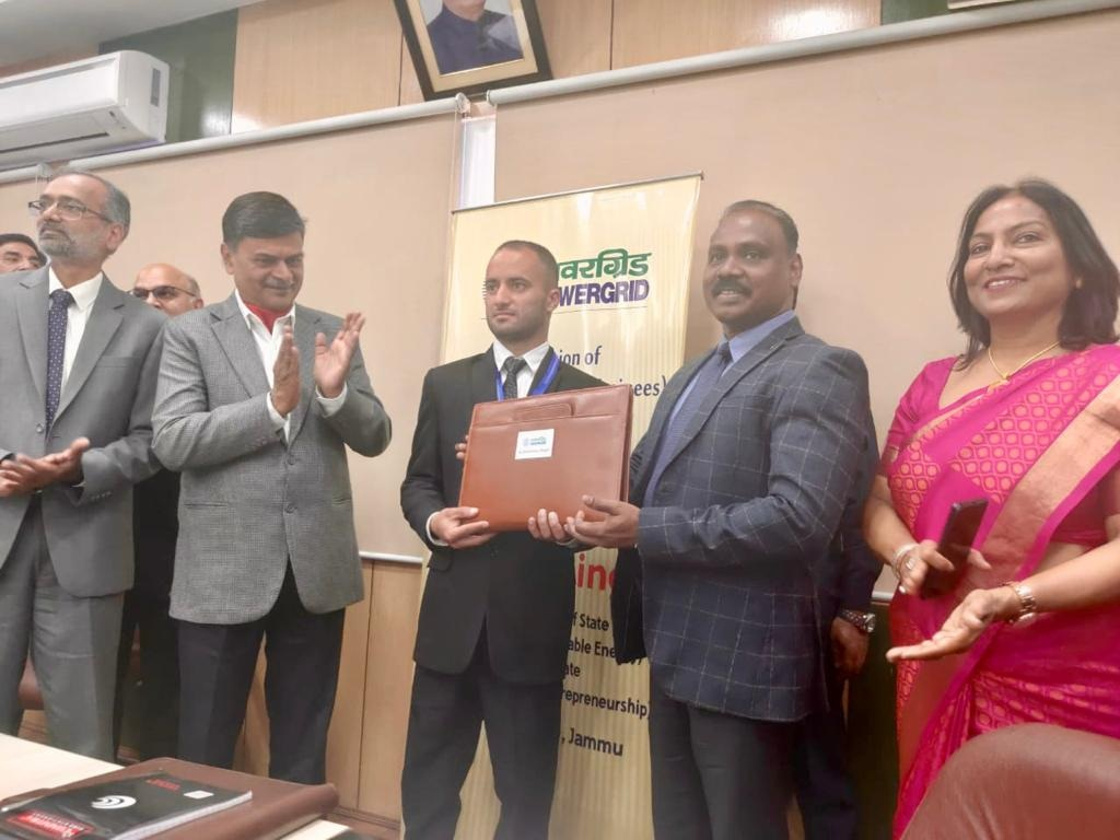 Powergrid Signed an MoU with NHSRCL