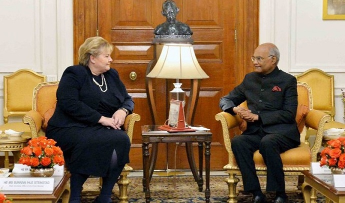Prime Minister of Norway Calls on the President
