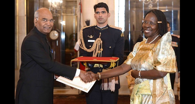 Envoys of five Nations Presented Credentials to President of India
