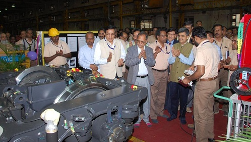 Beml Set up Bogie traction Motor run test Facility for Metro