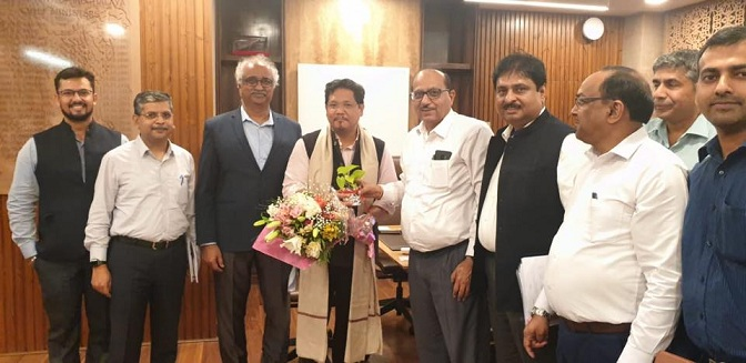 Chief Minister of Meghalaya Meets team POWERGRID
