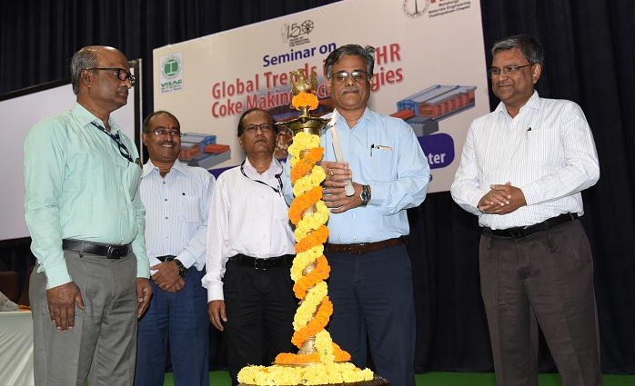 RINL CMD Inaugurates Seminar on Global Trends in NR-HR Coke Making Technologies