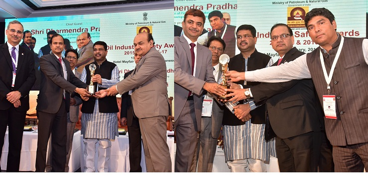 IndianOil Bags Highest tally OISD Safety Awards