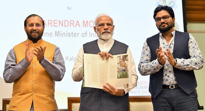 PM Released Results of 4th Cycle of All India Tiger Estimation - 2008
