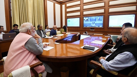 PM s Interaction through PRAGATI