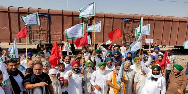 Railway passengers facing issues due to protest by Punjab farmers