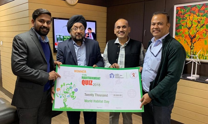 IREDA won 11th Habitainment Quiz 2018