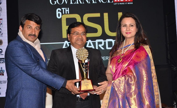 REIL Honored by the Governance Now Best PSU Award