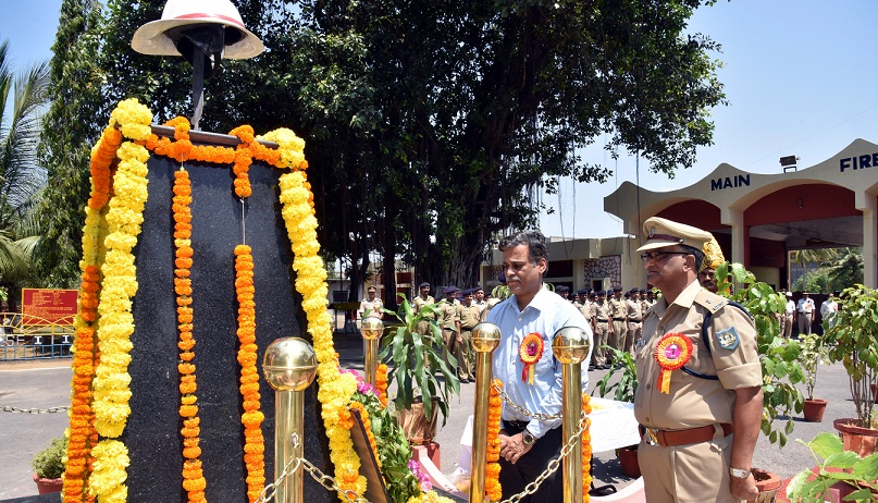 National Fire Services Day Celebrated in VSP