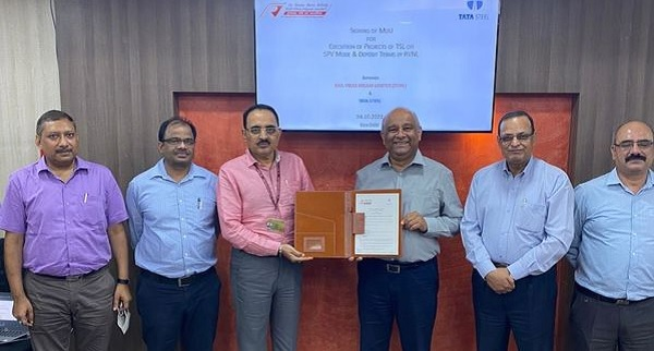 RVNL signs MoU with Tata Steel for infrastructure projects