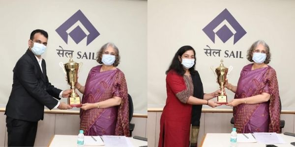 SAIL-BSP was adjudged as Winners of 17th edition of Chairman's Trophy For Young Managers 2020-21