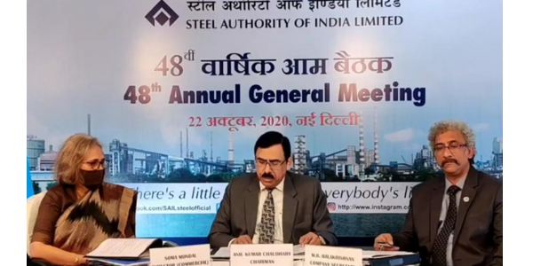 Chairman of SAIL addressed at the 48th Annual General Meeting