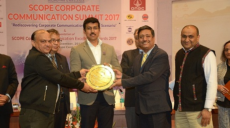 SCI wins First prize at SCOPE Corporate Communication Awards 2017