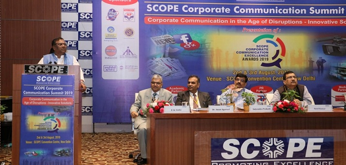 SCOPE Organised the SCOPE Corporate Communication Summit 2019