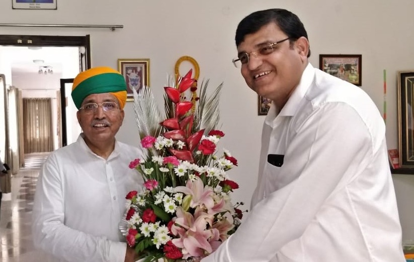 Chairman SCOPE met Shri Arjun Ram Meghwal