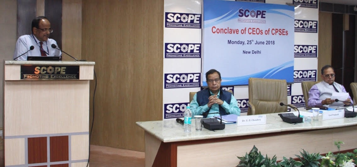 SCOPE Organizes Conclave of CEOs of CPSEs