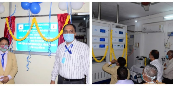 Continuous ambient air quality measuring machines are installed in SECL Johila