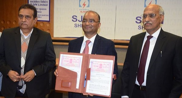 SJVN Signs an MoU with BHEL to Develop Solar Power Projects