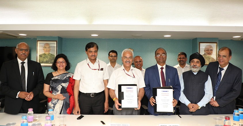 SJVN signs MoU with Ministry of Power