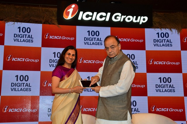 ICICI Group Dedicates 100 ICICI Digital Villages to the Nation