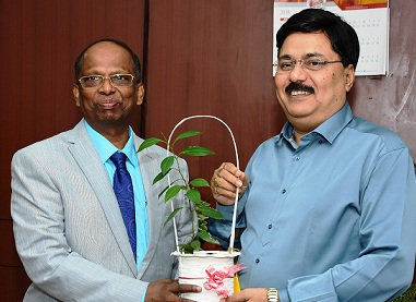 Shri Sridhar Patra takes over as Director Finance of NALCO