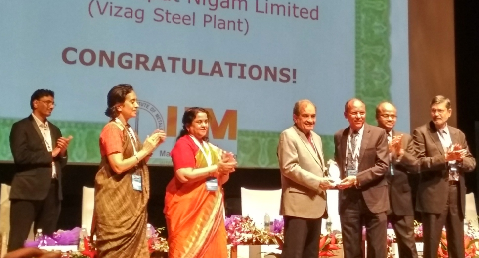 National Sustainability Award to RINL